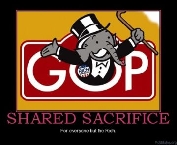 GOP greed