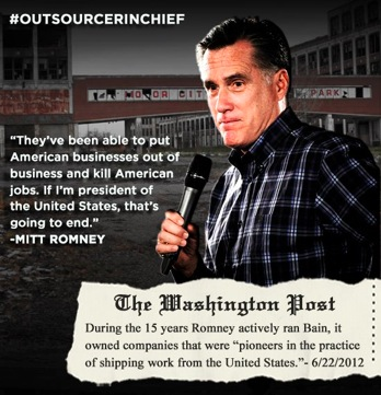 romney outsources