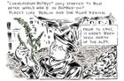 How Berlin s death zone birthed a whole new ecosystem - an urban comic