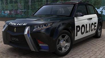 Sci-fi police car -code name