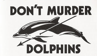 Stop murdering dolphins!!