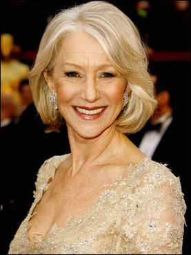 Pictures of Helen Mirren in Red Bikini