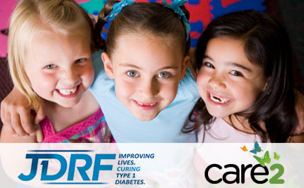 Care2 Came Through for JDRF