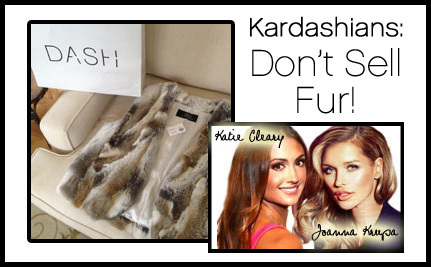 Katie Cleary, Joanna Krupa and Care2 to Deliver 140,000 Petition Signatures to DASH Store in Calabasas to Protest Fur Sales
