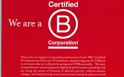 B Corporations: A Better Way to Do Business