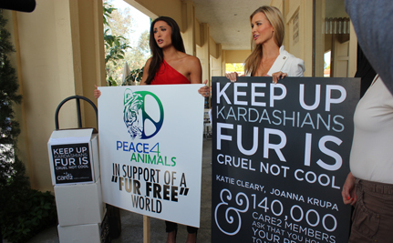 Katie Cleary & Joanna Krupa Deliver Petition Signatures to DASH