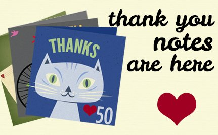 New on Care2: Thank You Notes!