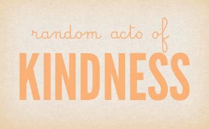 Today's Act of Kindness: Big Smile