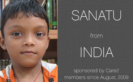 Progress Report – Santanu, Care2 Sponsored Child