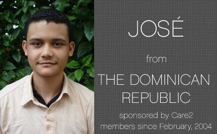 An Update on José, Care2 Sponsored Child