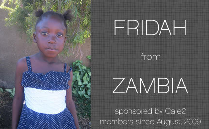 An Update on Fridah, Care2 Sponsored Child