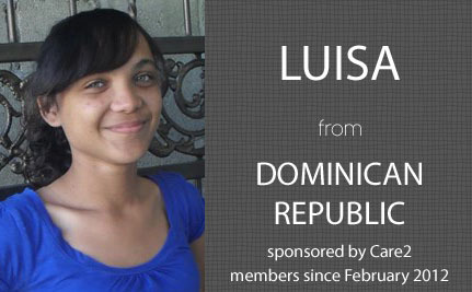 Update From Luisa, Care2 Sponsored Child