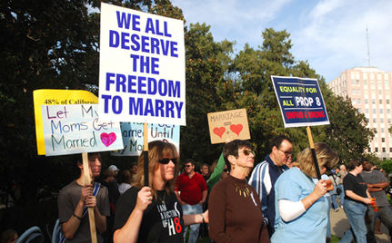 The Battle For Legal Rights For Gay And Transgender People Likened To Anti-Apartheid Fight
