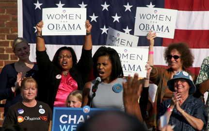Together We Can Advance the Feminist Agenda with Hope and Change