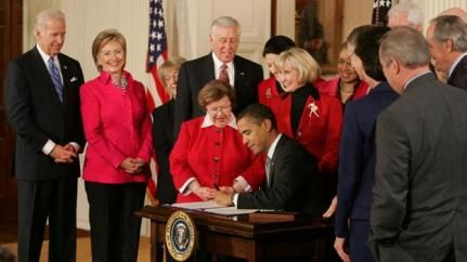 Why We Vote: Thank You Lilly Ledbetter – Equal Pay Act Signed into Law
