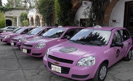"To Save Women from ""Leering Drivers"", City Offers Pink Taxis, Beauty Kits"