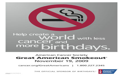 Great American Smokeout: Make the Pledge, Live Longer, Live Better