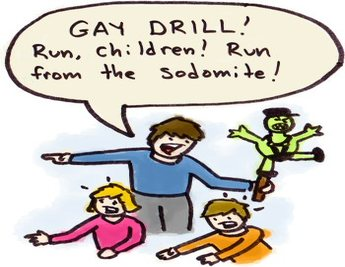 Updated: Everybody Run that Homosexual Wants a Son…