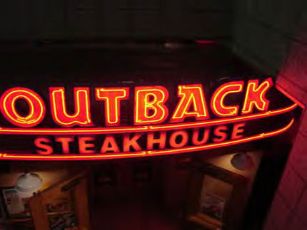 Sex Discrimination Outback: Steakhouse Settles Sex Discrimination Suit
