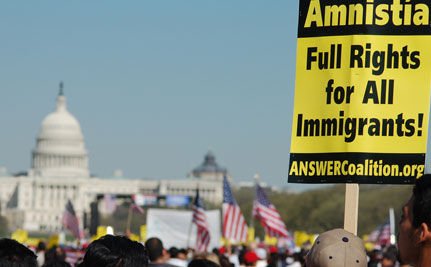 Rallying for Immigrant Rights