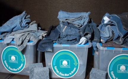 Recycle Your Blue Jeans To Change The World