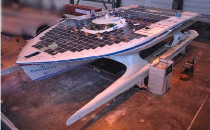 World's Largest Solar Powered Boat Prepares For Carbon-free Trip Around The Globe