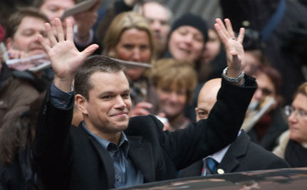 To Matt Damon on World Water Day