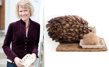 "Shannon Boase Creates ""Down to Earth"" Packaging from Palm Fiber"