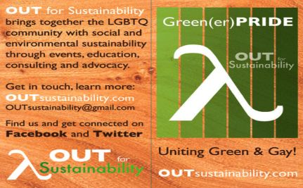 Earth… Gay? – Coming Out for Sustainability this Earth Day
