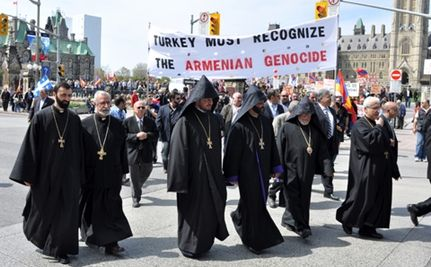 Armenians Commemorate Genocide 95 Years Later