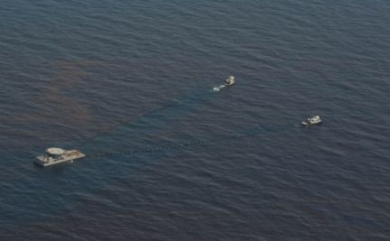BP Tries To Restrict Volunteer Rights As Oil Slick Triples In Size