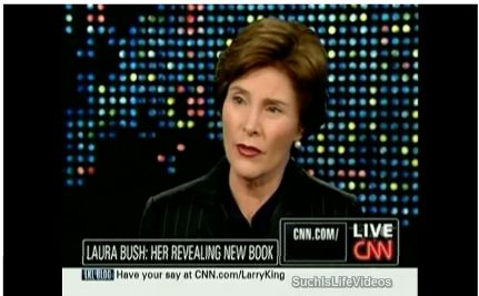 Laura Bush Comes Out Pro-Choice and Pro-Gay Marriage