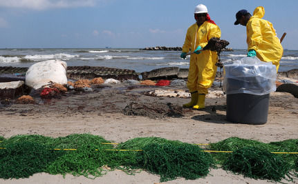 BP Refuses To Provide Workers With Respirators, Denies Oil Spill Health Risks