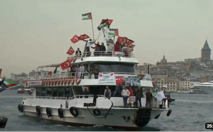 Israeli Forces Attack Boats Bearing Aid to Gaza