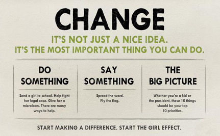 The Girl Effect: Making a Difference One Girl at a Time (VIDEO)