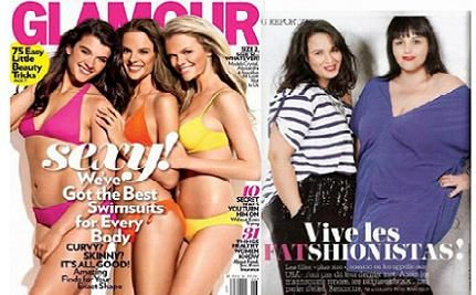 French Glamour Features Plus-Size Women � Not Models � in June Issue