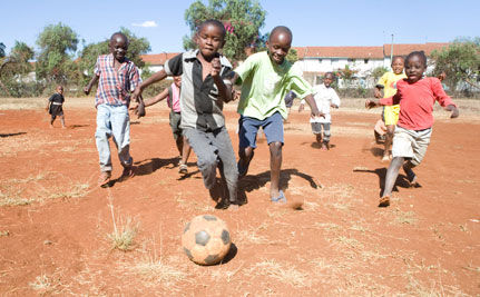 World Cup Raises Risks for South African Children