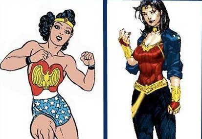 Wonder Woman Makeover Makes Angry Fans
