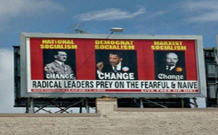 Tea Party Splits Over Obama/Hitler/Lenin Comparison