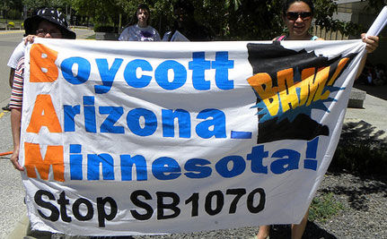 Boycotts Galore as Arizona's Immigration Law Readies to Take Effect