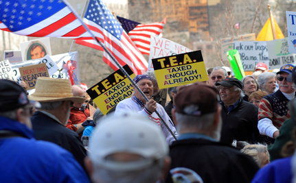 Tea Party Spokesman Says NAACP Is Racist