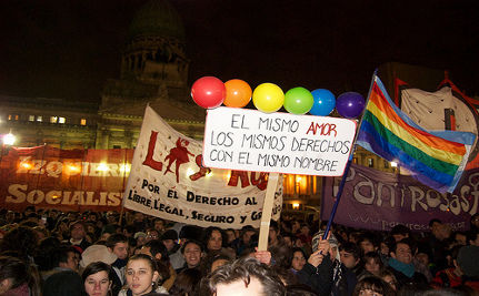 Argentina's Gay Marriage Victory in Video: The Same Love, The Same Rights With the Same Names