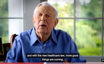 Andy Griffith to Seniors: Good Things Are Coming from Health Care Law (Video)