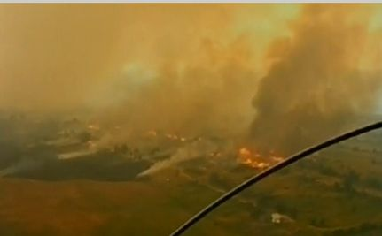 Fires Devastate Russian Crops as President Medvedev Points to Global Warming
