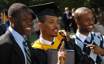 Under 50% of Young Black Men Graduate from High School