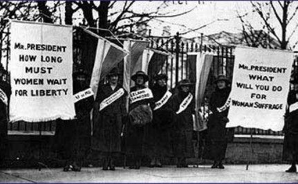 Care2 Women: Celebrate the Right to Vote!  #1