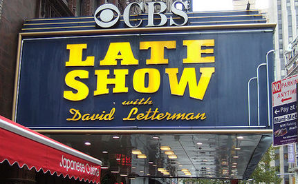 """Letterman and climate change: """"Thank you for scaring the crap out of me."""""""