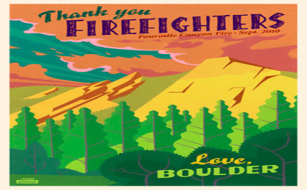 Boulder Residents Show Appreciation After Devastating Wildfire