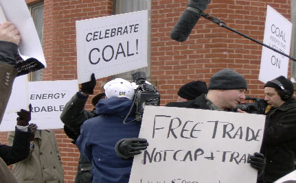 Pro-Coal Rally In Colorado Reveals Fear Of Clean Energy
