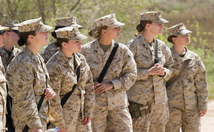 In Afghanistan, Female Marines Defy Gender Roles
